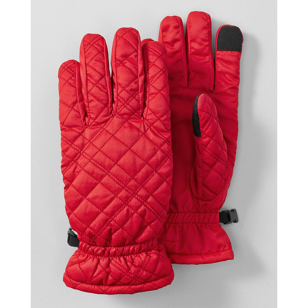 Eddie Bauer Quilted Down Gloves - Our best-selling gloves feature our signature diamond stitching and 550 fill Premium European Goose Down for exceptional warmth. - $9.99