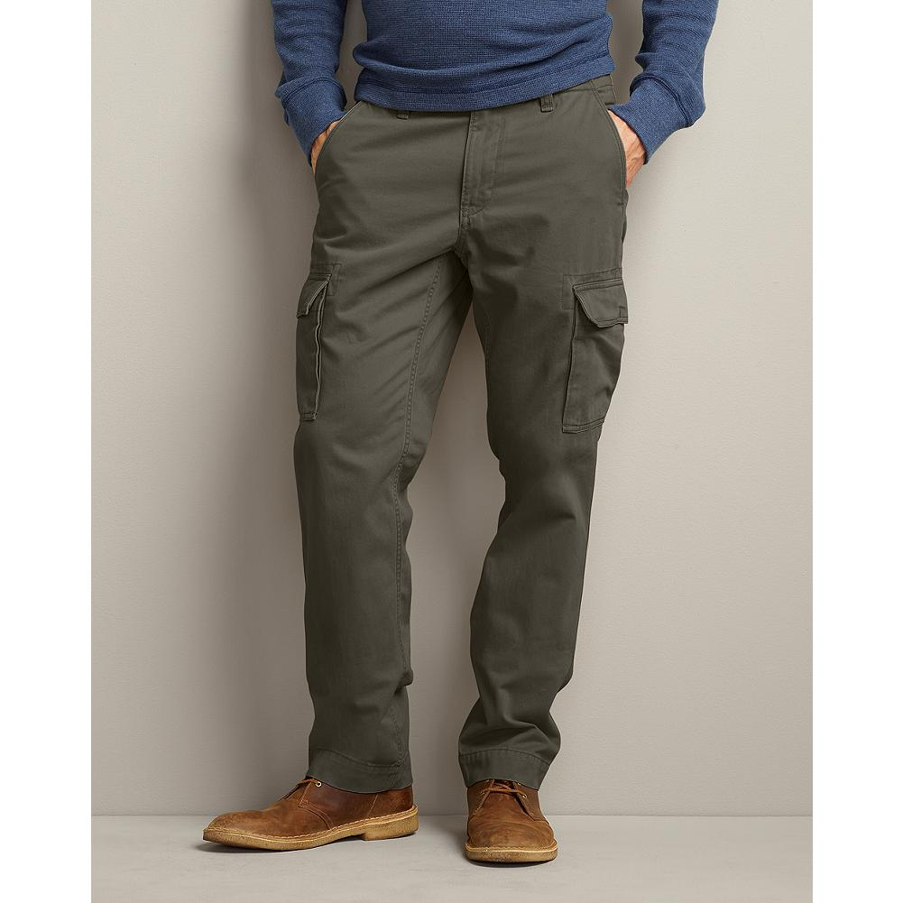 Eddie Bauer Slim Fit Legend Wash Cargo Pants - These military-inspired cargo pants feature our exclusive Legend Wash twill. No break-in period: just soft, durable comfort. - $49.99