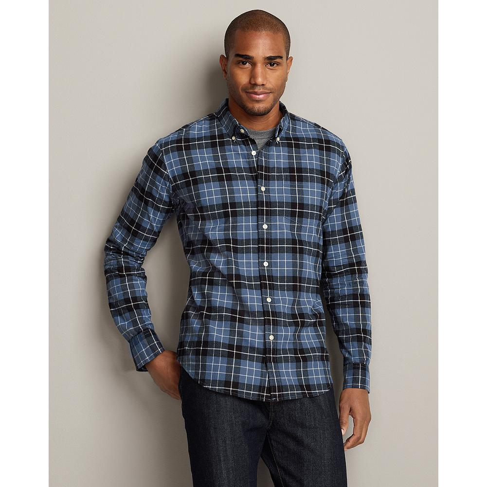 Eddie Bauer Slim Fit Legend Wash Plaid Oxford Shirt - The oxford cloth in this plaid shirt is treated with our exclusive Legend Wash for exceptional softness, so it will feel broken in the first time you wear it. - $14.99
