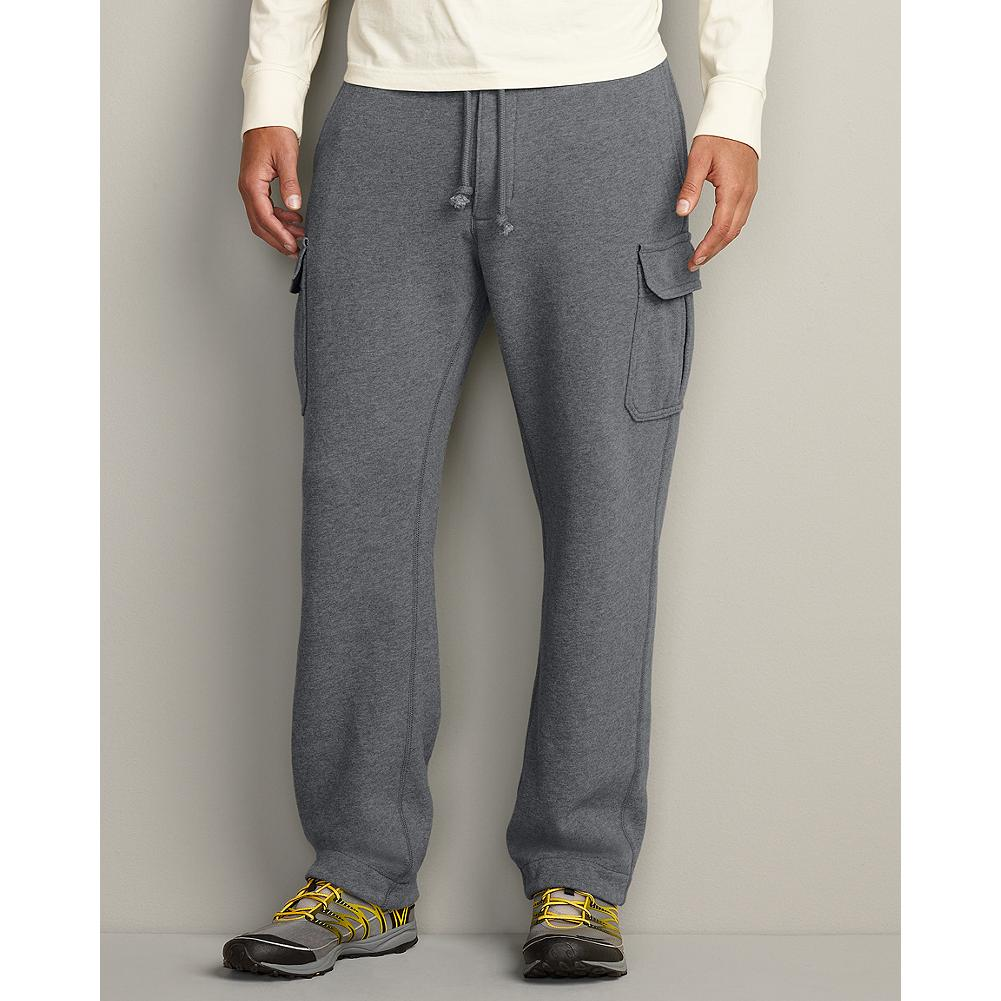 Eddie Bauer Eddie's Signature Fleece Cargo Pants - These pants feature cargo structure and storage in the supersoft comfort of our premium fleece, proven superior to the competition in colorfastness, durability and shrink-resistance. - $19.99