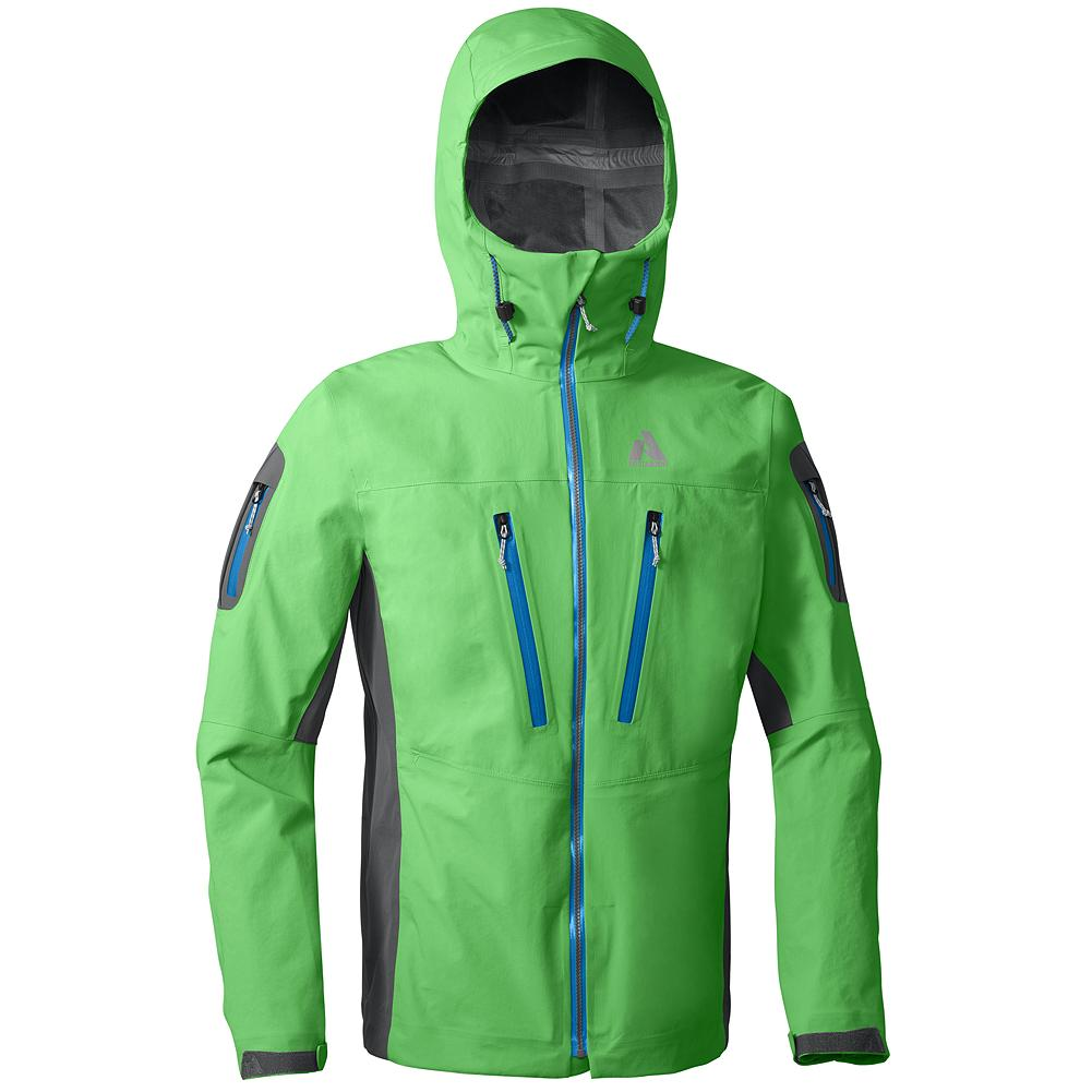 Ski Eddie Bauer SEABA Heli Guide Jacket - Designed, tested and approved by a tough crowd of Alaskan heli guides, this shell is a bombproof choice for big mountain lines in skiing's biggest venues. - $264.99