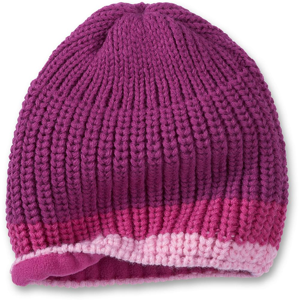 Entertainment Eddie Bauer Kids' Basic Beanie - Mountain Guide in Training(TM) Our soft, cozy beanie is knit in a chunky stitch and finished with fun contrasting color stripes. Imported. - $3.99