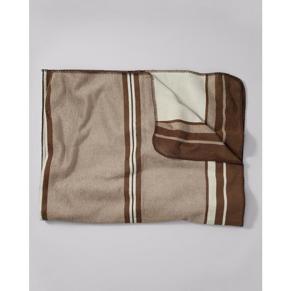 Camp and Hike Eddie Bauer Camp Blanket - This soft, warm blanket was inspired by the vintage camp blankets considered essential for mountain adventures in Eddie Bauer's day. - $69.95