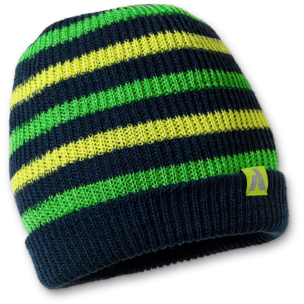 Eddie Bauer Blower Beanie - A freeride fit allows you to pull this beanie down low for style and warmth on chill days. The 52% acrylic and 48% merino wool construction makes the hat feel great, helps to ward off odor and insulates when wet. - $9.99