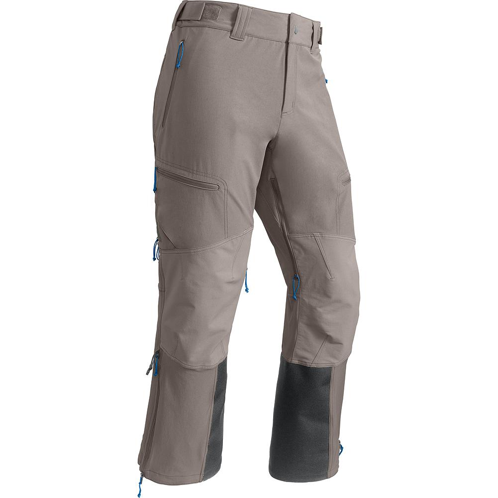 Entertainment Eddie Bauer Grand Tour Pants - For overnight hut trips, midwinter tours or spring volcano season, our breathable soft shell skier's pant provides regulated comfort and elemental resistance in the backcountry. Tough, breathable stretch fabric provides flexibility when bootpacking up summit ridges and prevents overheating in steep skintracks yet also sheds snow on thigh-deep descents. - $199.00
