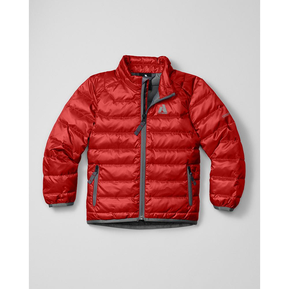 Entertainment Eddie Bauer Toddler Boys' Downlight Jacket - Mountain Guide in Training(TM) This tiny version of our best-selling Downlight Jacket is insulated with 600 fill Premium European Goose Down for reliable, lightweight warmth during any outdoor adventure. - $39.99