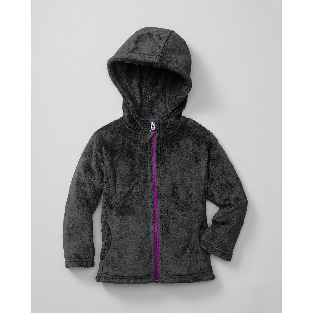 Entertainment Eddie Bauer Toddler Girls' Aah-some Fleece Hoodie - Mountain Guide in Training(TM) Our cozy hoodie is made of supersoft high-pile fleece for warmth without weight. Integrated hood. Two handwarmer pockets. - $24.99
