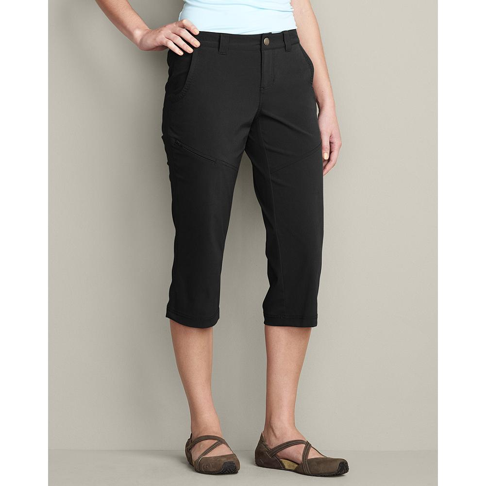 Eddie Bauer Travex Capris - Ready for any adventure, these quick-drying capris have a hint of stretch for comfort, are moisture-wicking, and offer UPF 50+ sun protection. - $59.95