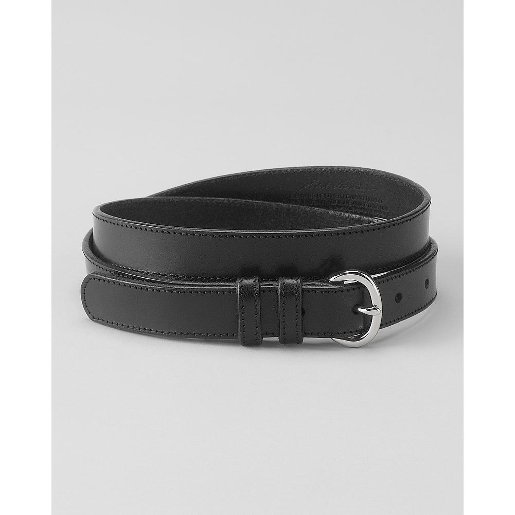 Eddie Bauer Leather Trouser Belt - We've updated our dressy leather trouser belt with smoother finish and a smaller buckle. - $34.95