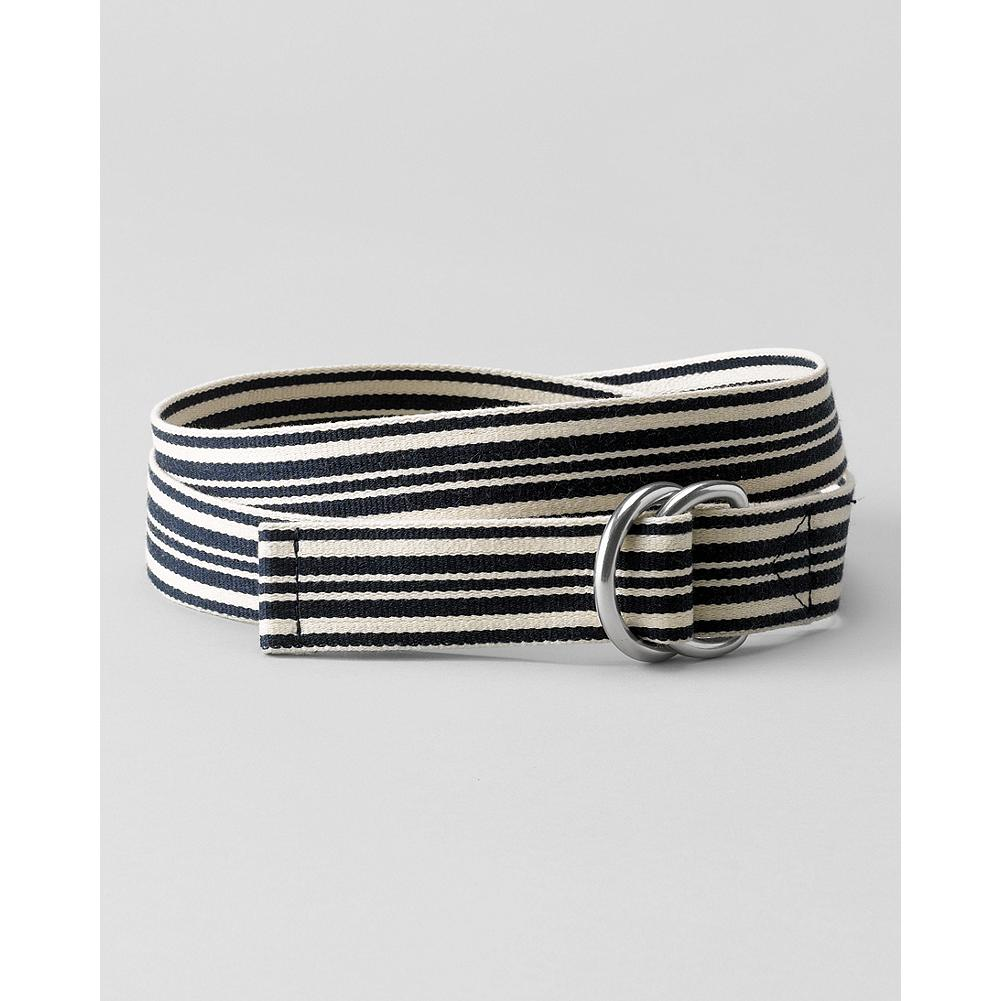 Eddie Bauer Web D-Ring Belt - Add instant color to your summer wardrobe with our boldly striped web belt. - $9.99