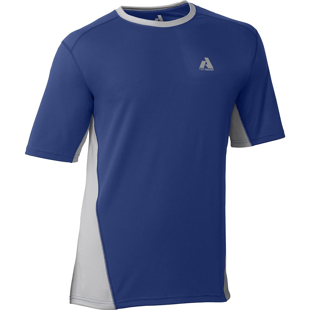 Entertainment Eddie Bauer Circuit T-Shirt - Worn for mountain training or as a lightweight first layer, this tee uses Cocona fabric technology to efficiently wick sweat away at an accelerated rate. An active fit increases layer efficiency. - $29.99