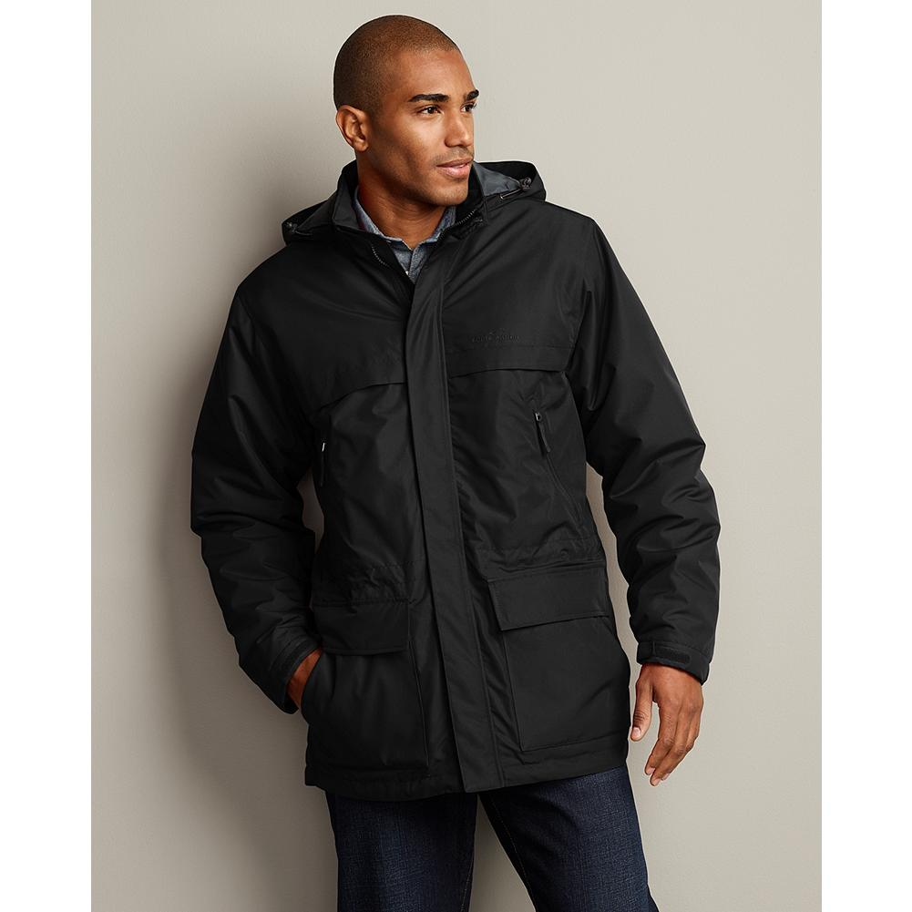 Eddie Bauer Windfoil Parka - Great function meets ideal style in this three-season-standout parka. It's lightweight, breathable, and wind- and water-resistant. - $59.99