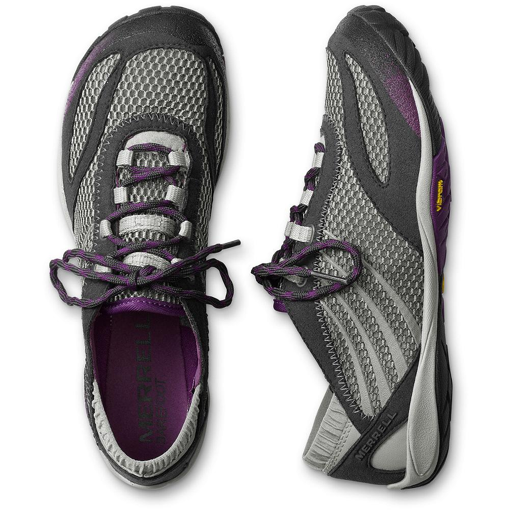 Merrell Pace Glove Active Lace-Up Shoes - Minimally designed, trail-ready shoes from Merrell. With durable, machine washable synthetic leather and mesh uppers; Vibram ousoles. Imported. - $49.99