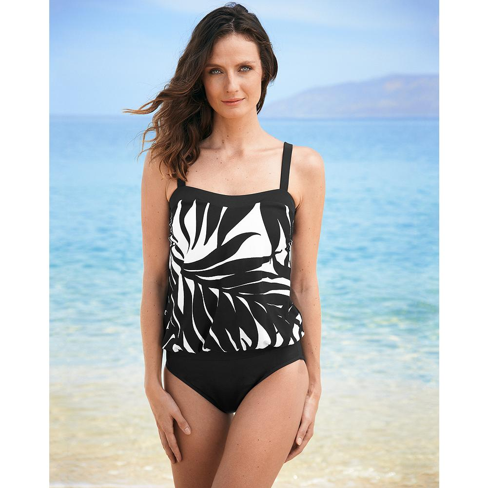 Fitness Miraclesuit Classic Swimsuit Bottom - Mix and match this classic bottom with Miraclesuit Swim Separates to create your perfect suit. Made of innovative Miratex fabric, with three times the Lycra spandex of regular swimwear for all-over control and a flattering fit. Made in USA and imported.   First time purchasing a Miraclesuit? Many customers order one size larger than their usual size. Please look at our size chart to find out the best fit for you. View Size Chart.               Watch Product Demo - $29.99