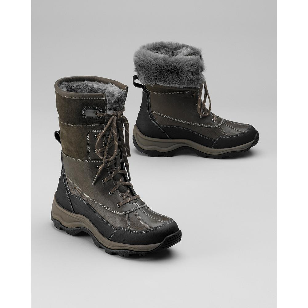 Privo by Clarks Arctic Adventure Boots - These stylish boots lace up for slogging through the snow, then take a playful turn when you fold over the shearling cuffs. - $99.99