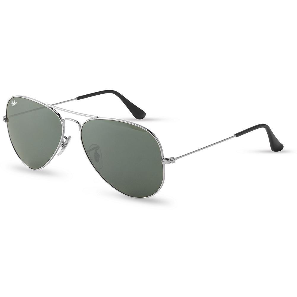 Entertainment Ray-Ban Large Aviator Sunglasses - This style was originally designed for the US military fighter pilots in 1937. With their unmistakable teardrop shaped lenses, they quickly became a popular, fashionable choice that has endured for nearly 75 years. Imported. - $139.00