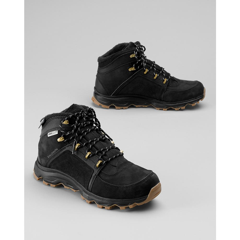 Entertainment Salomon Rodeo Waterproof Boots - These waterproof leather boots offer insulated comfort to -10deg and a winter traction sole. - $69.99