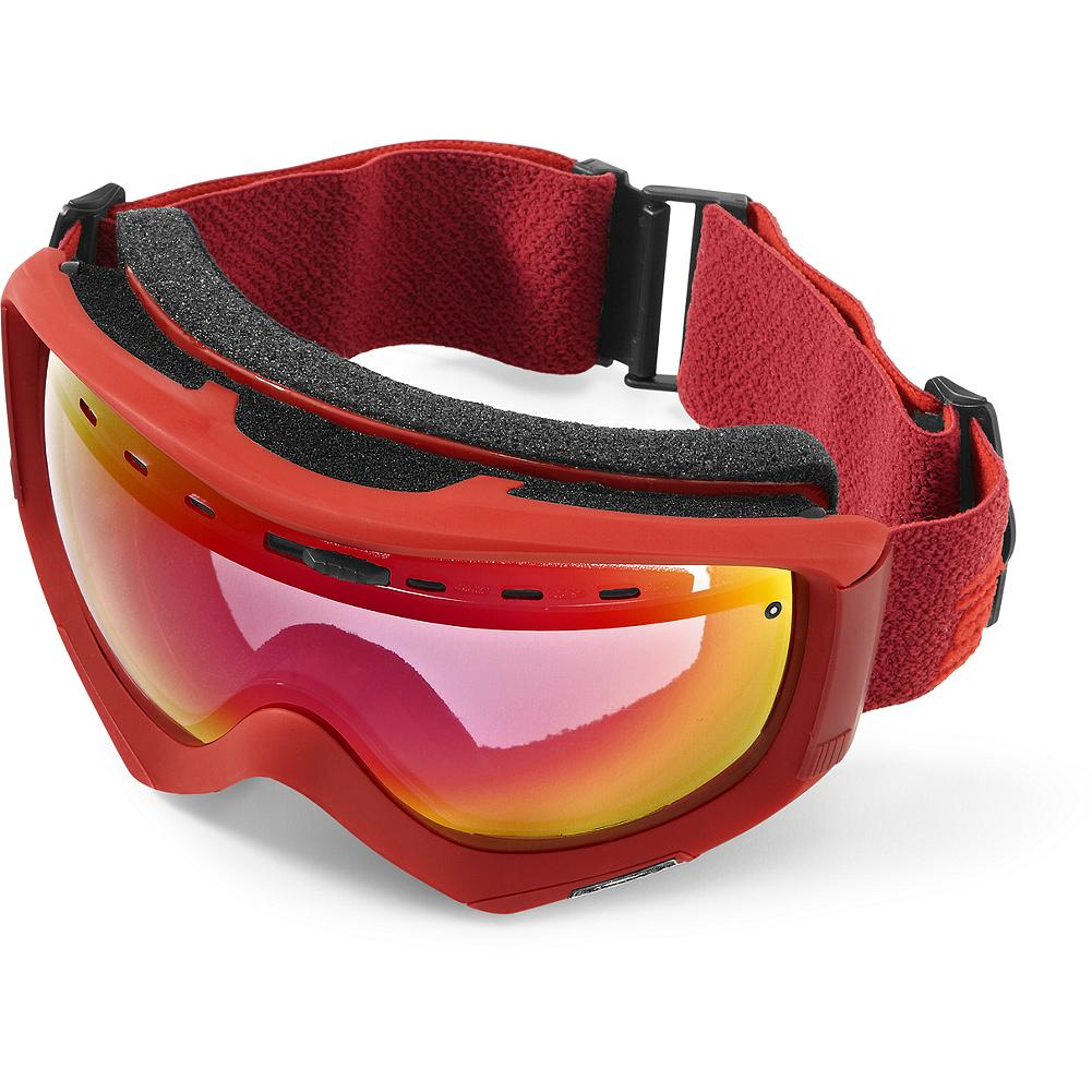 Ski Smith Optics Prophecy Goggles - The all-new Prophecy creates superior helmet and eyeglass compatibility. The minimized surfaces reduce weight and provide clean, updated styling while engineering behind the scenes has further improved performance. Reliefs in the temple area make room for eyeglasses while interior volume has been maintained to help prevent fogging with or without eyeglasses. Microfiber bag included. Imported. - $74.99