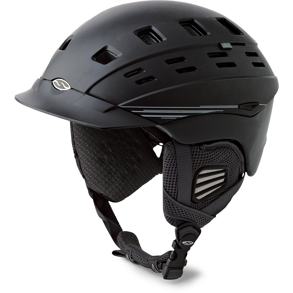 Ski Smith Optics Men's Variant Brim Helmet - Survive anything that Mother Nature delivers! Climate control vents, a customized fit system, a goggle lock and Snapfit Ear Pads are among the performance and comfort features offered in this men's-specific helmet. Imported. - $109.99