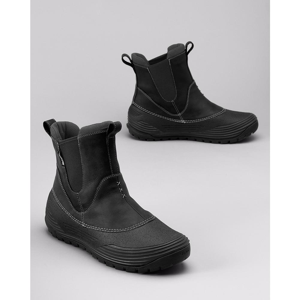 Entertainment Teva Loge Peak Boots - Teva's easy pull-on waterproof boots are seam-sealed to keep feet dry and well insulated to keep you warm. - $34.99