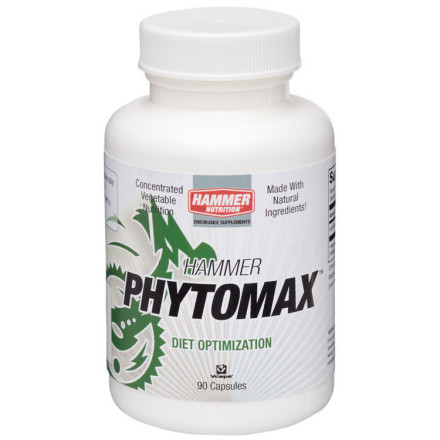 "Fitness Many athletes who consistently use Phytomax enjoy increased energy levels, faster recovery, improved immune system function, improved moods and mental clarity, and a higher quality of sleep. Why' Because they're providing what their body needs but isn't getting from their paltry intake of commercially grown, nutrient-diminished produce shipped across the continent, or even farther.Phytomax is produced from Hydrilla verticilata, an aquatic plant with an impressive nutrient profile of vitamins, minerals, enzymes, fatty acids, antioxidants, RNA, DNA, chlorophyll, and other phytonutrients. Specific harvesting methods and special low-heat drying and fine-grinding processes preserve the ""living"" enzymes and rich nutrients stored in the plant, making Phytomax unequaled in nutrient density and bioavailability by any ""green food"" product currently on the market. All athletes should increase their intake of fresh, locally grown organic produce, but most of us either don't have it readily available, or we take dietary short cuts. That's why Phytomax belongs in your daily supplement program. One bottle contains 90 capsules. - $22.95"