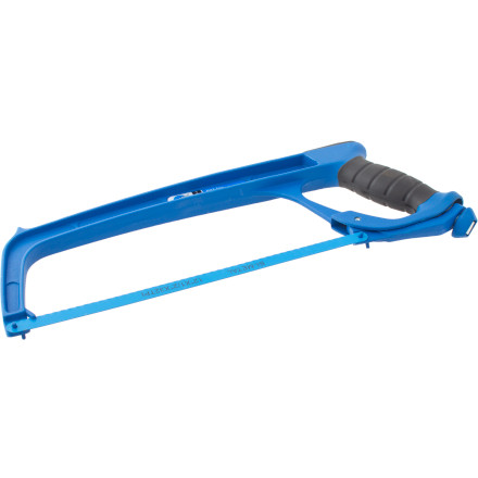 Fitness Shorten handlebars, chop down seat posts, or cut steerer tubes with the Park Tool SAW-1 Hacksaw.Includes one blade and accepts any 12-inch hacksaw blade Durable all-aluminum die cast frame construction Comfortable handle for positive grip - $19.95