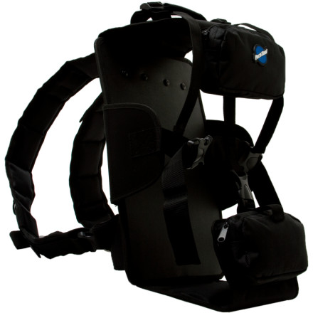 Camp and Hike Its easy to lug around your BX-1 Blue Box Tool Case on your back with the Park Tool Backpack Harness. Padded waist and chest straps combined with plenty of accessory pouches make the Backpack Harness perfect for race support in nearly any venue. - $69.95