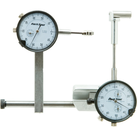 Fitness Make wheel building and truing as precise as possible with the Park Tools TS-2/TS-2.2 Dial Indicator Gauge Set. This gauge set comes with all the hardware needed to mount both a lateral and radial runout dial indicator to the Park Tool TS-2.2 and TS-2 Truing stand. Once you install it, you set the dials for the tolerance desired and twist away to perfect rim alignment. - $119.95