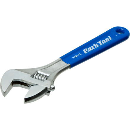Fitness Fix your bike with the Park Tool 12in PAW-12 Adjustable Wrench before you get frustrated, drop cycling altogether, and end up a vicious racewalker. - $29.95