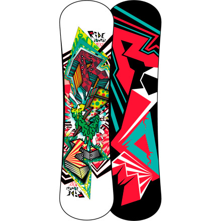 Snowboard The Ride Lowride Kids' Snowboard hooks up legit freestyle performance for kids, thanks to a super-soft Gummy core, twin shape, and Lowrize rocker profile. - $107.97