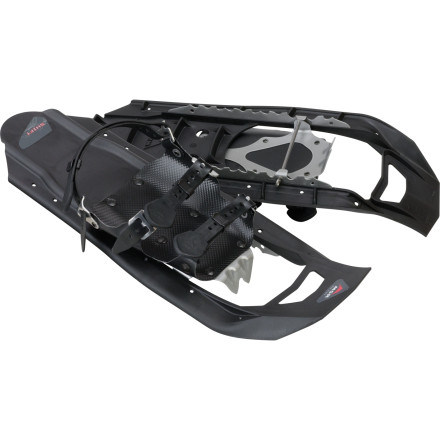Camp and Hike Help break the cabin fever when you get your little buddy on the snow with the MSR Kids' Shift Snowshoe. Built for kids weighing less than 125lb, this strong plastic shoe keeps your restless hiker moving on top of the fresh snow, instead of sinking into it. And if things get icy, the stainless steel crampons and traction bars dig in and give him or her sure footing. - $89.95
