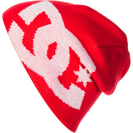 Motorsports Just because it's getting nippy outside and Mom is making you get all bundled up, doesn't mean you have to look like a tool. Throw on the DC Boys' Big Star Beanie and you don't have to shiver or have your lunch money stolen. - $18.00