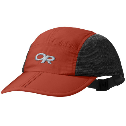 The Outdoor Research Swift Cap is lightweight and breathable for your on-the-go child. Quick-drying nylon panels deflect sunlight, while the breathable mesh panels keep junior's noggin cool. - $9.48