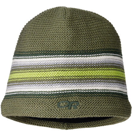 Ja ... the Outdoor Research Kids' Spitsbergen Beanie provides your child the heavenly warmth he or she most desperately needs to fight winter's chilliness. Its WindStopper technical fleece-lined ear band stops the wind from howling in your kid's ears, while its warm wool fabric keeps your little grom's head toasty. - $10.38