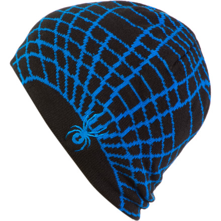 Entertainment The Spyder Web Hat may not help your boy catch flies, but at least it will keep his head warm when hes tearing down the slopes. - $16.22