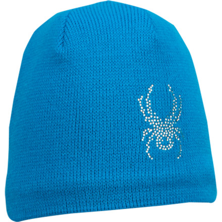 Some members of the next generation just refuse to let a snowy backyard go to waste. Keep your young one warm with the Spyder Kids' Bitsy Rhinestone Bug Hat, and don't fret about the cold. - $24.95