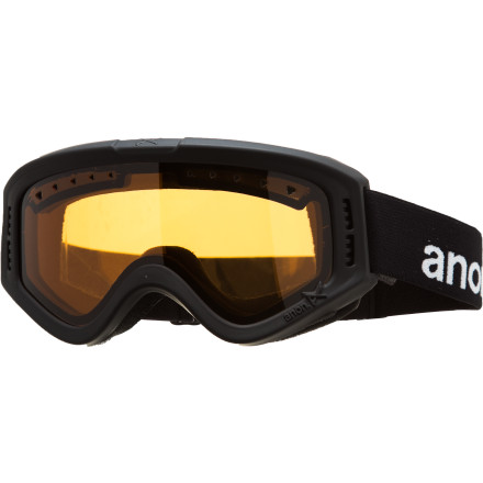 Camp and Hike The Anon Kids' Tracker Goggle knows that the youth are the future of the sport. And in order to protect their vision as they progress, the Tracker utilizes an impact-resistant Tru-V lens with 100% UV protection. And for hiking up hill or making hot laps (literally), full-perimeter channel venting keeps things ventilated and fog-free. - $22.77