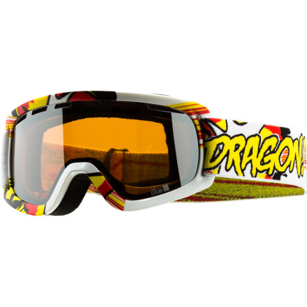 Ski Don't make your kid suffer through another season of using inferior hand-me-down eyewearset them up with the Dragon Lil D Goggles. Anti-fog lenses, plush face foam, and a helmet-compatible fit keep your mini-shredder stoked all season. - $26.97