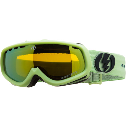 Ski Finally, a spherical frame developed for the little ones. Electric's Kids' EGK Goggle brings fully grown style to the hard-charging youth who value fog-free clarity, incredible depth of field, and seamless helmet compatibility. - $38.97