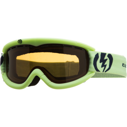 Ski Perhaps your young'n is new to the slopes but the Electric Kids' EG1K Goggle is not. Based upon the grown-folks' model and featuring all the same tech (like 100% UV protection and anti-fogging technology) but with a slimmed-down profile to fit small faces, the EG1K is a vital component for any grom who actually wants to see where they're going. - $26.97