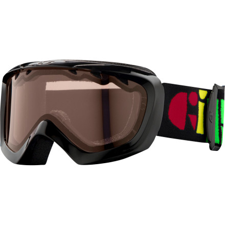 Ski Send your lil' ripper down the slopes with the Giro Chico Little Kids' helmet-compatible Goggle giving them a clear view. Recommended for children ages 2 - 5, the wicking mircofleeced foam seals out the elements, while a Vermilloin lens enhances contrast in flat light and blocks harmful UV rays. - $17.47