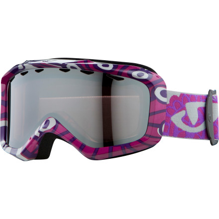 Ski You have a hard time keeping an eye on your kid now, but wait until you get the Giro Grade Plus Goggle. With superb fit and low-distortion lens, your mini rider will have a sharper, broader view and jacked-up speed. - $38.47