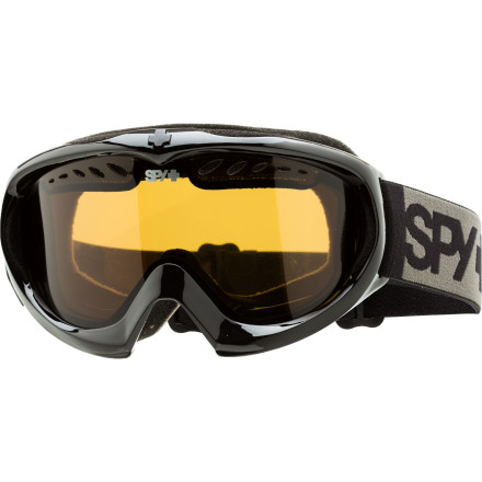 Snowboard Offering revolutionary technology to those who will soon revolutionize the sport, the Spy Targa Mini Goggle was designed from the ground up to fit the faces of the youth with the same tech used in the grown folks' goggles. - $23.97