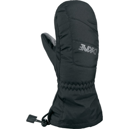 Ski Keep Junior's little hands toasty warm all season without blowing your entire vacation budget. The DAKINE Yukon Mitten uses a tough nylon and polyester shell with an even tougher polyurethane palm to hold off abusive snowball fights and snowman construction, and high-loft synthetic insulation makes a full day of skiing more fun and comfortable for both of you. - $14.97
