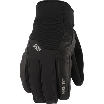 Ski For the little ripper just coming up in the ski/snowboard world, frostbite just won't do. The POW Gloves Mega GTX Jr. packs all the features of a serious adult ski glove in a much more manageable size. The one-two punch of Gore-Tex and Thinsulate means warm hands all season. - $35.97