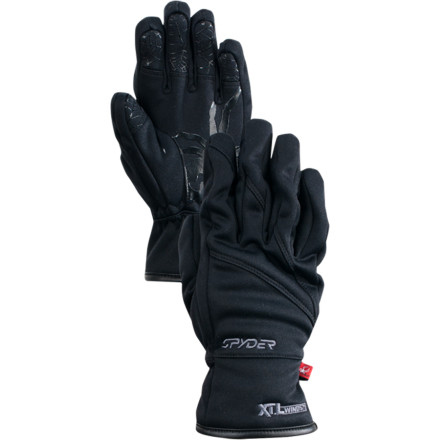 Ski When you can hear bone-chilling gusts outside, give your kid the Spyder Boys' Facer Windstop Gloves to ensure his day of skiing or riding goes off without a hitch. The Xt.L insert stops frigid gusts in their tracks, while the Facer's three-layer microfleece shell and ThermaWeb insulation keep his hands nice and toasty. - $22.72