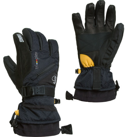 The Swany Kids' X-Change Jr. Glove uses multi-layered, technical fabrics to protect your little speed-demon's hands from winter weather. These gloves are tough enough for adult-sized adventures, but they're scaled to fit growing hands. - $38.97