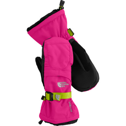 When the snow starts to fly this winter put your girl's hands in The North Face Montana Mitt. Two layers of durable, waterproof, breathable, HyVent fabric keep her hands dry, while synthetic Heetseaker insulation locks in the warmth - $32.47