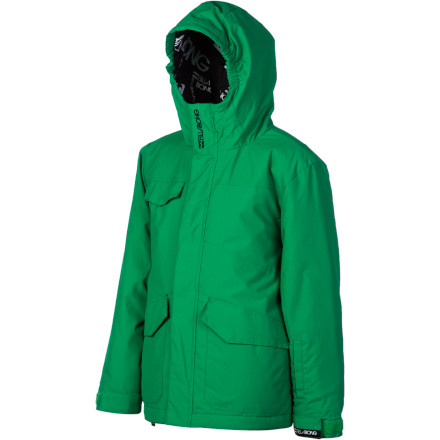 Ski Chilly' No problem. The Billabong Boys' Stance Jacket is packing 120 grams of synthetic insulation on the body and 100 grams in the sleeves for serious cold weather protection. the Stance also provides tons of pocket space, a fully waterproof powder skirt, and a fulltime hood for extra protection. - $45.48