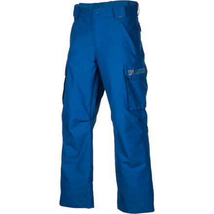 Ski The Burton Boy's Exile Cargo Pant delivers all the technical aspects and the style points found in Dad's and big brother's pants, but it's designed from scratch to fit smaller riders. - $51.71